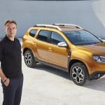 Laurens VAN DEN ACKER alături de Dacia Duster II