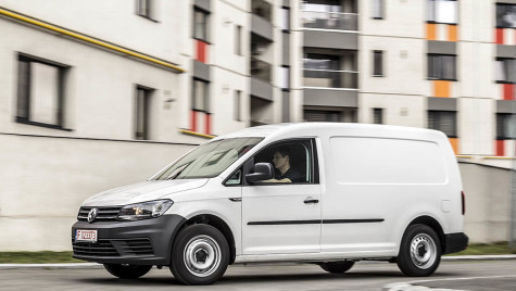 VW Caddy, un van ca o compactă