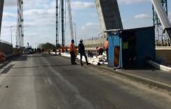Circulaţie restricţionată pe podul Agigea până la 1 noiembrie. Trei nopţi va fi închisă