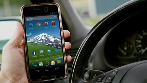 Pedepse aspre pentru utilizarea telefonului la volan