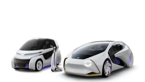 Toyota Concept-i țintește flota urbană