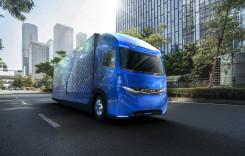 E-Fuso Vision One: 350 km autonomie