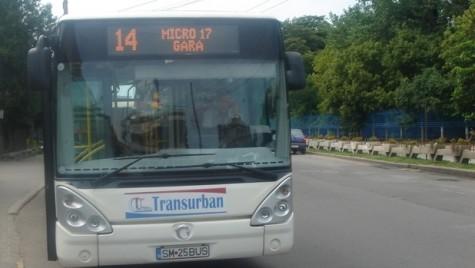 Autobuze în leasing operaţional pentru transportul public din Satu Mare
