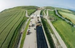 Autostrada A10. Pe loturile 3 şi 4 s-ar putea circula din mai