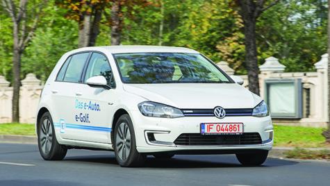 Test drive Volkswagen e-Golf