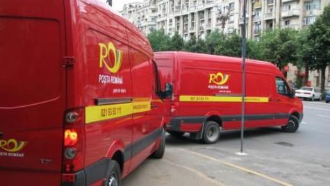 Parcul auto al Poştei Române, reînnoit cu 180 de utilitare