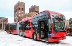 Primele autobuze articulate electrice BYD din Europa