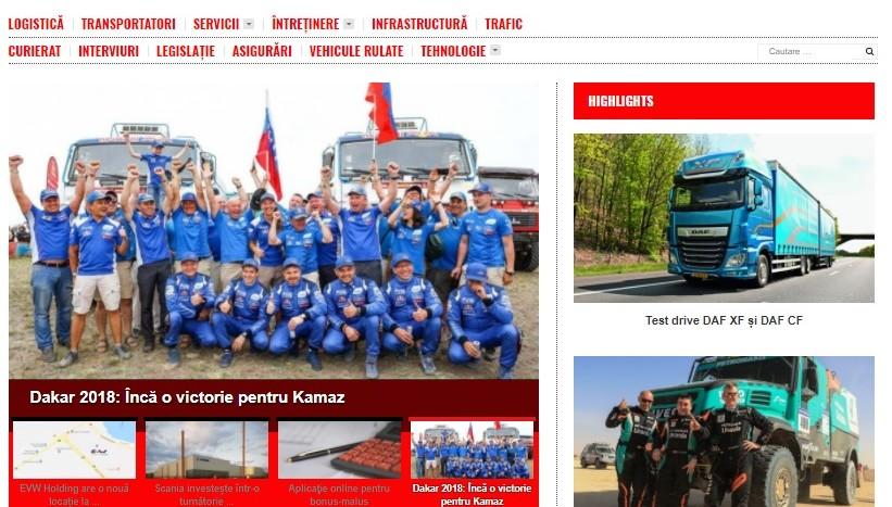 Cargo&Bus captura site nou