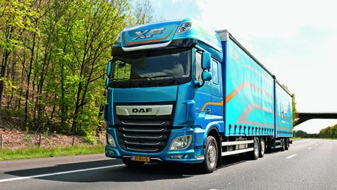 Test drive DAF XF și DAF CF