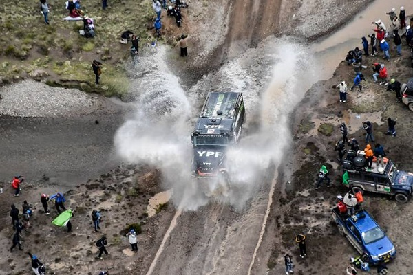 Dakar 2018 Iveco Villagra
