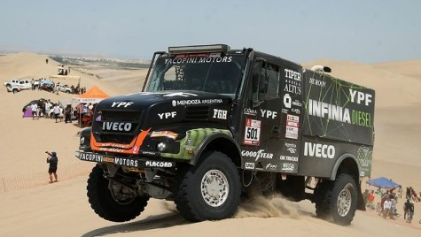 Dakar 2018: Victorie Iveco în etapa a treia