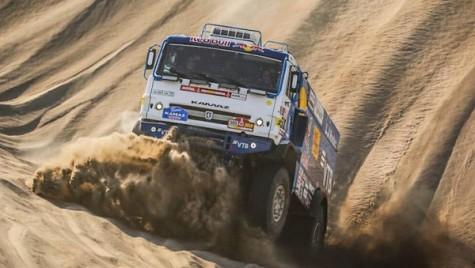 Dakar 2018: Triplă Kamaz în etapa a cincea