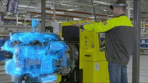 Renault folosește realitatea virtuală la fabricarea motoarelor