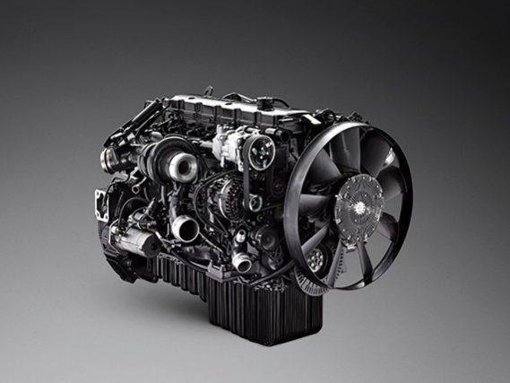 Scania motor 7 litri
