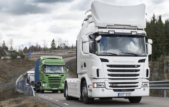 Scania electrificare
