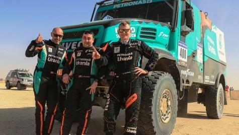 Iveco a câștigatAfrica Eco Race 2018