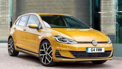 Iată-l pe VW Golf 8, ce va apărea în 2019