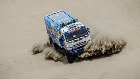 Kamaz, Tatra și Iveco, în fruntea Raliului Dakar