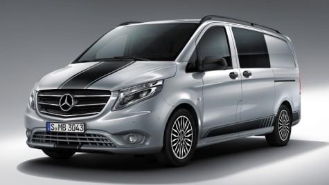 Un plus de sportivitate pentru Mercedes-Benz Vito