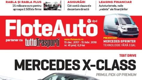 A apărut FLOTE AUTO, decembrie 2017 – ianuarie 2018