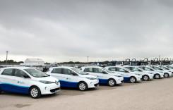 Unde a livrat Renault o flotă de 127 maşini electrice?