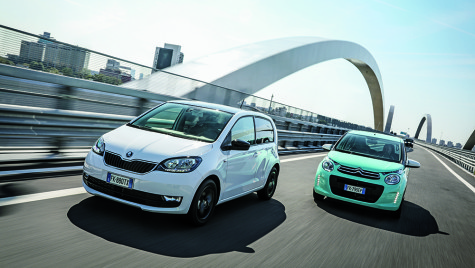 Test Citroen C1 vs Skoda Citigo
