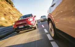Test Fiat 500X vs Ford EcoSport, Jeep Renegade, Opel Crossland X, Peugeot 2008