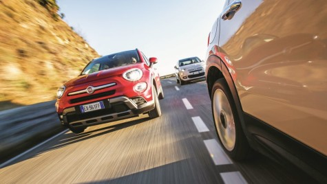Test Fiat 500X vs Ford EcoSport, Jeep Renegade, Opel Crossland X, Peugeot 2008