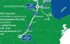 Marș spre București pentru dezvoltarea infrastructurii din Moldova