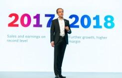 Record. Veniturile din vânzări ale Bosch au urcat, în 2017, la 78,1 mld. euro