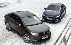 Test Citroen C-Elysee vs Dacia Logan