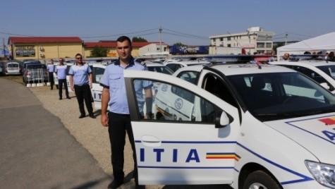 Peste 100 de maşini Dacia Logan, în flota IGPR