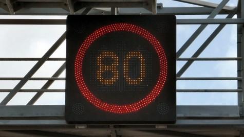 Restricţia de viteză pe autostrada A2 se menţine