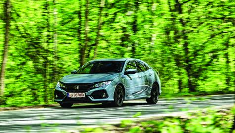 Test Honda Civic 1.0 CVT Elegance Navi