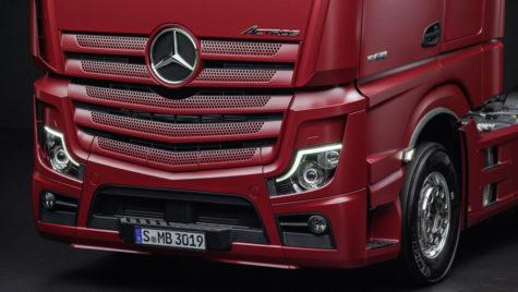 LIVE lansarea lui Mercedes-Benz Actros!