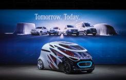 Mercedes-Benz Vans la expoziția IAA 2018