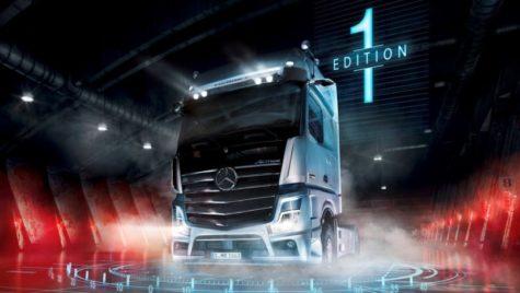 Noul Mercedes-Benz Actros Edition 1 a fost lansat la Salonul IAA 2018 de la Hanovra