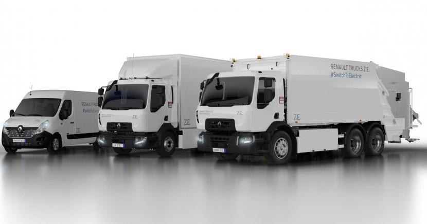 IAA 2018 Hanovra: Renault Trucks lansează gama electrică Z.E.