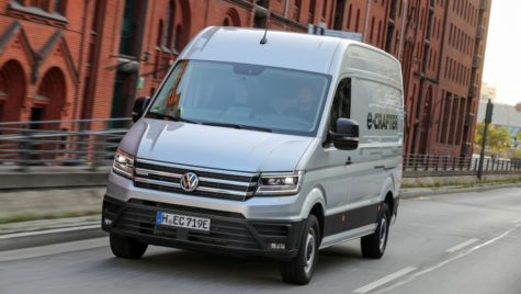 Test VW e-Crafter: Campionul urban