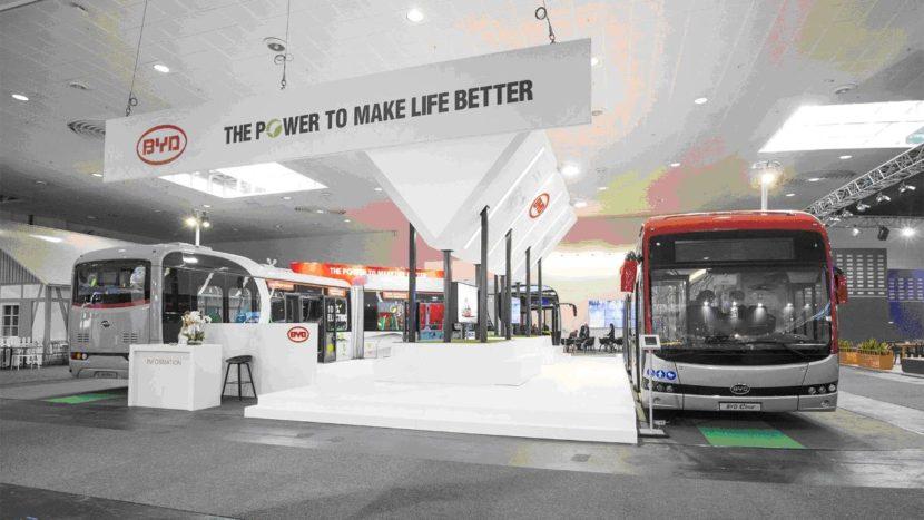 Autobuzele electrice BYD
