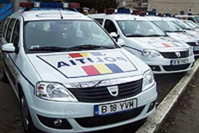 Noi autospeciale în parcul auto al Poliţiei