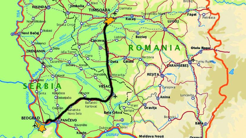 autostrada Timisoara Belgrad