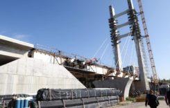 Podul hobanat peste Şoseaua Virtuţii, aproape finalizat