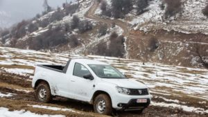 Exclusiv - primul test cu Dacia Duster Pick-Up