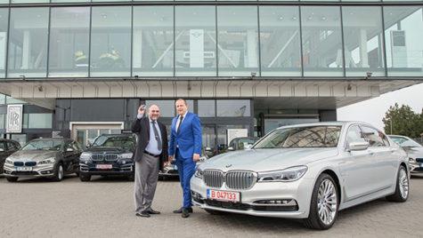 BMW livrează cea mai mare flotă de automobile plug-in hybrid din România