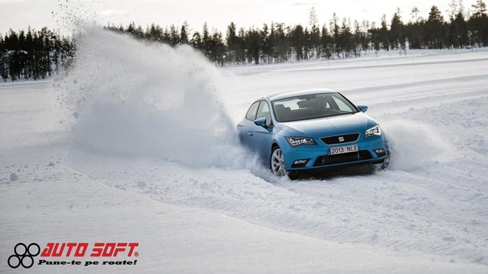 auto-soft 3 floteauto echipat mașina de iarnă