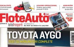 Revista Flote Auto, decembrie 2018 – ianuarie 2019
