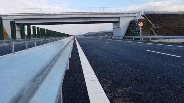 Încă 13,7 km din A3 deschişi traficului rutier