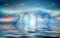 Calendarul cu zile nelucrătoare în 2019
