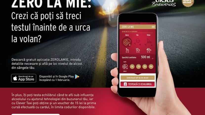 Aplicația Zero la Mie - un instrument util pentru șoferii români